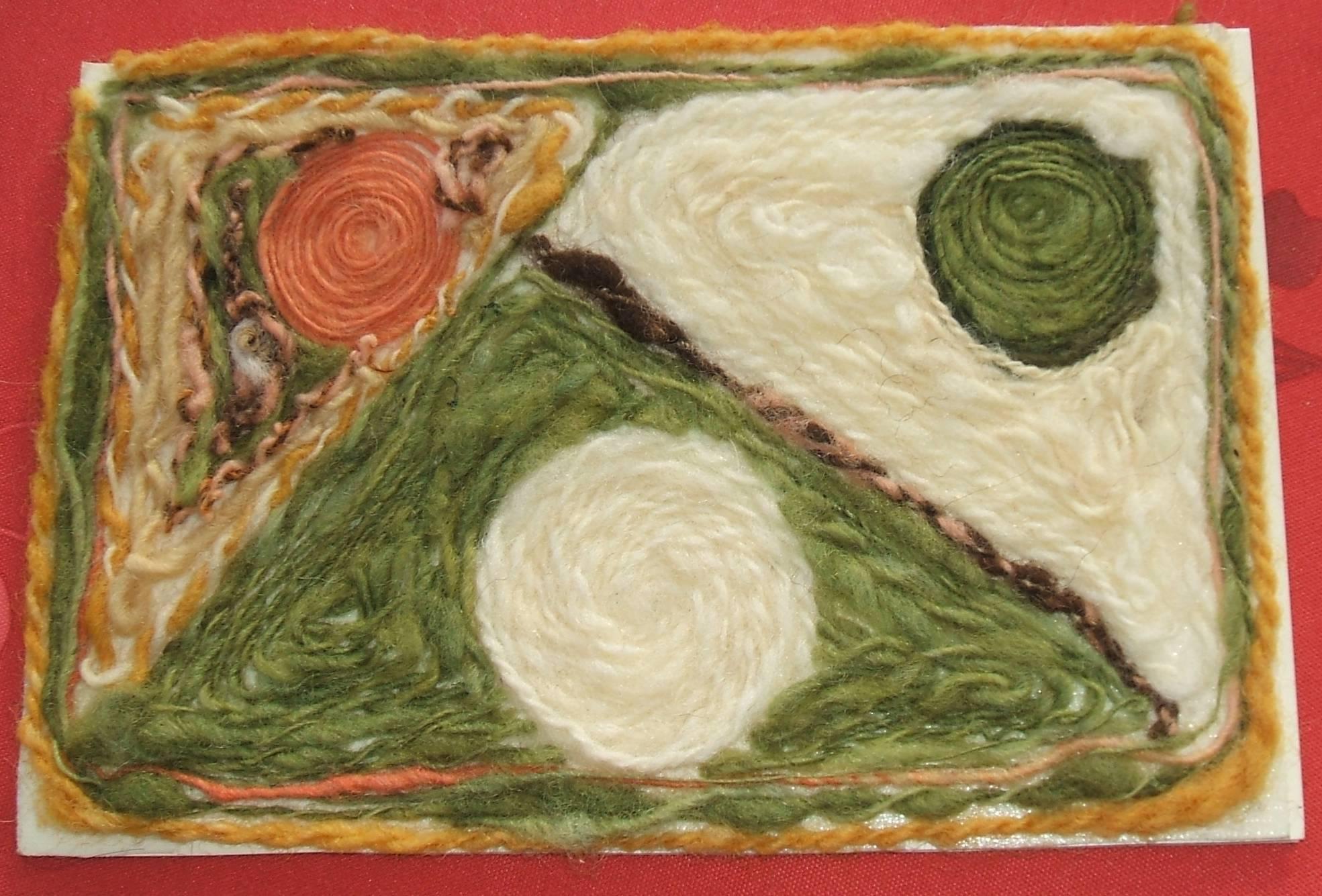 carte voeux laine 2011