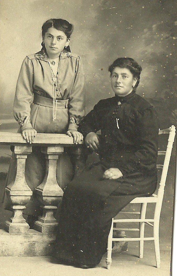 Louise et Marie. Emmanuel était-il parti à la guerre ?