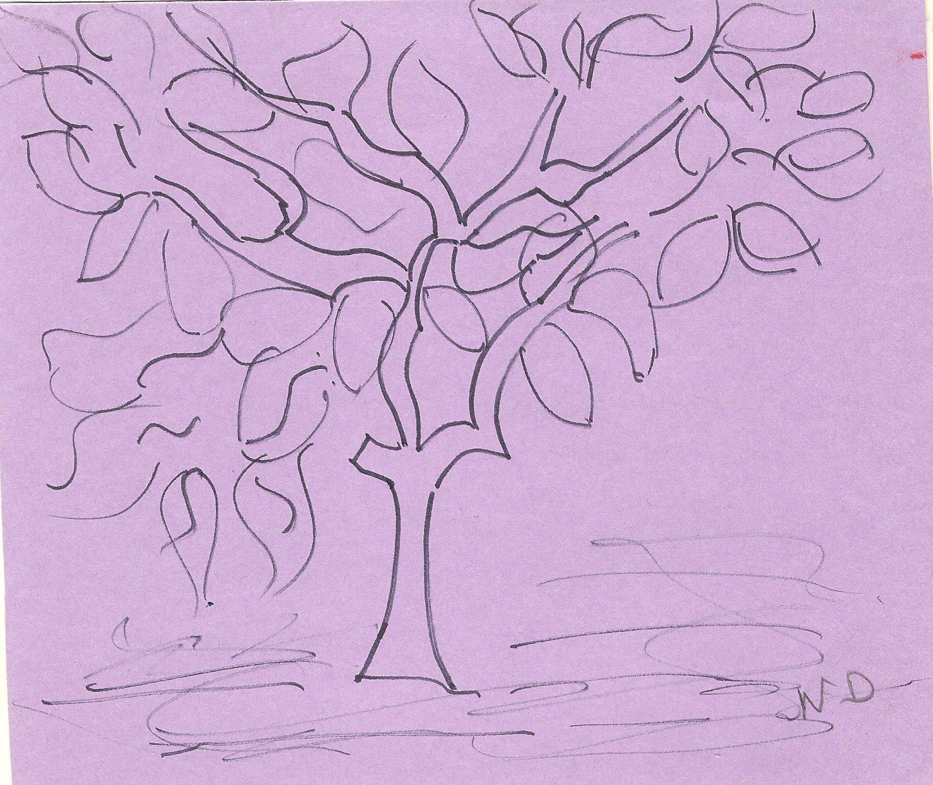 L'arbre aux larmes