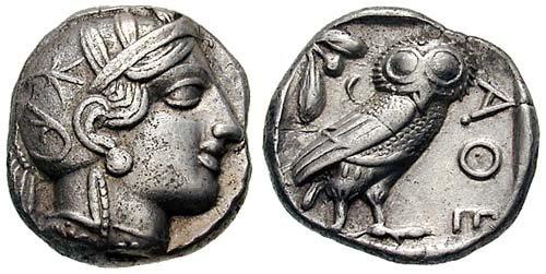 Tétradrachmes de la Grèce antique