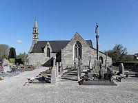 La chapelle saint Lubin à Kergrist