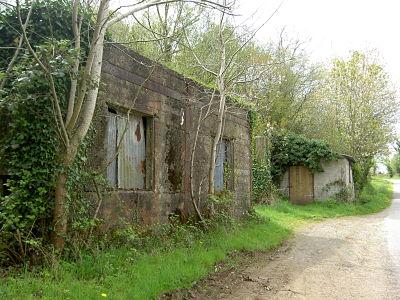 Les locaux dans lesquels les ouvriers carriers étaient logés.