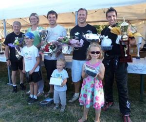 Août 2015, la victoire à la course de côte Quettreville-Hérenguerville
