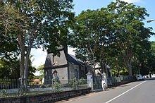 L'église Saint François de Pamplemousse