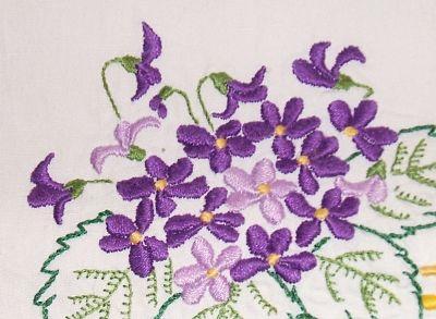 violettes drap 22