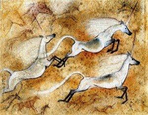 Licorne peinture rupestre