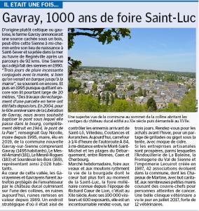 11-Il était une fois Gavray, 1000 ans de foire Saint-Luc
